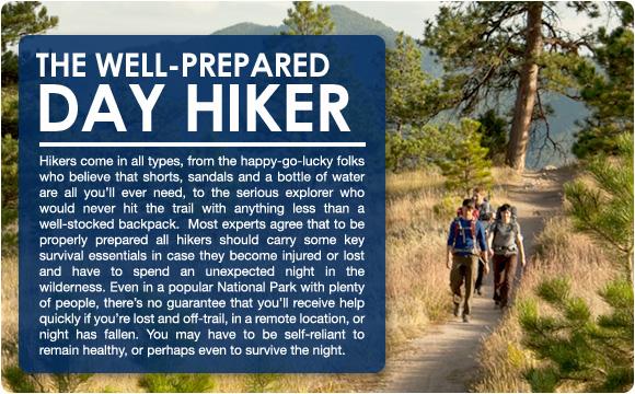 Prepared Hiker
